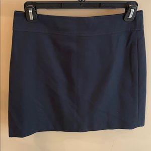 Banana Republic Black Midi Skirt Size 2 Petite